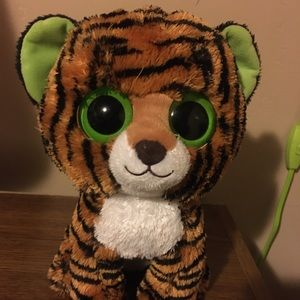 Stripes Tiger Solid Eye Ty Beanie Boo